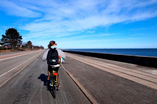 Outdoor House Bike Ride