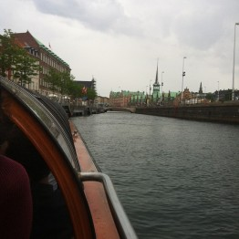 Canal Tour in Copenhagen, photo taken by Lucy Campbell