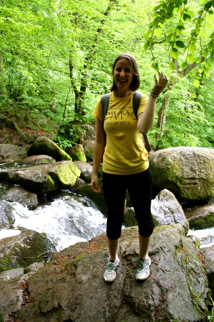 Emmie_Arnold_Standing on rock