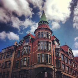 """""""I love the buildings here!"""" - Lucy Campbell"""