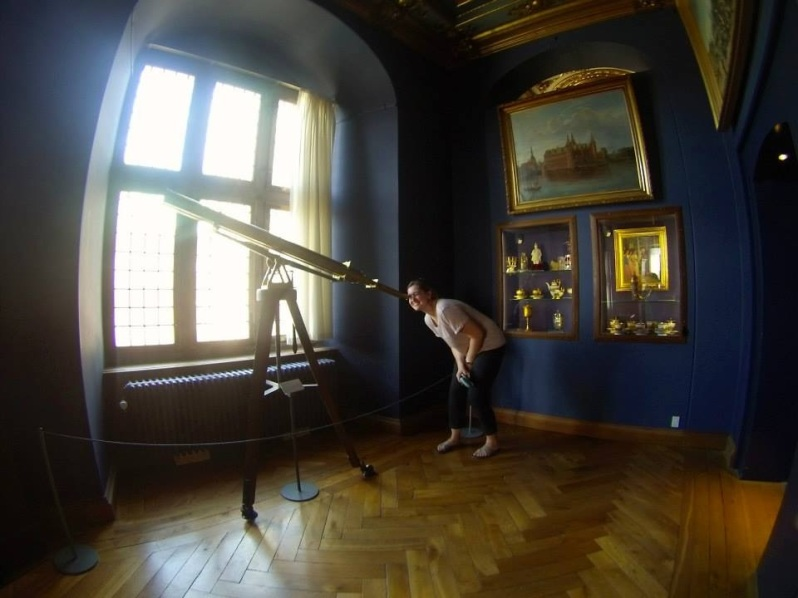 Exploring Frederiksborg Castle, looking forward to the next two sessions of the summer