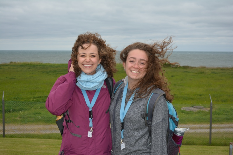 The windy Baltic with Liamarie!