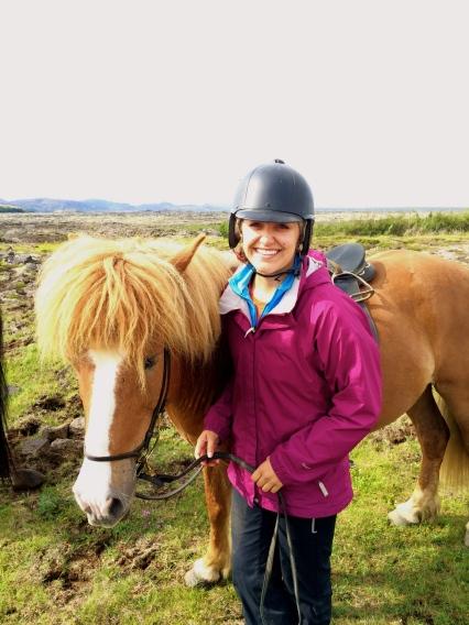 Jacqueline Scott, Iceland, SU14, Study Tour, horse riding
