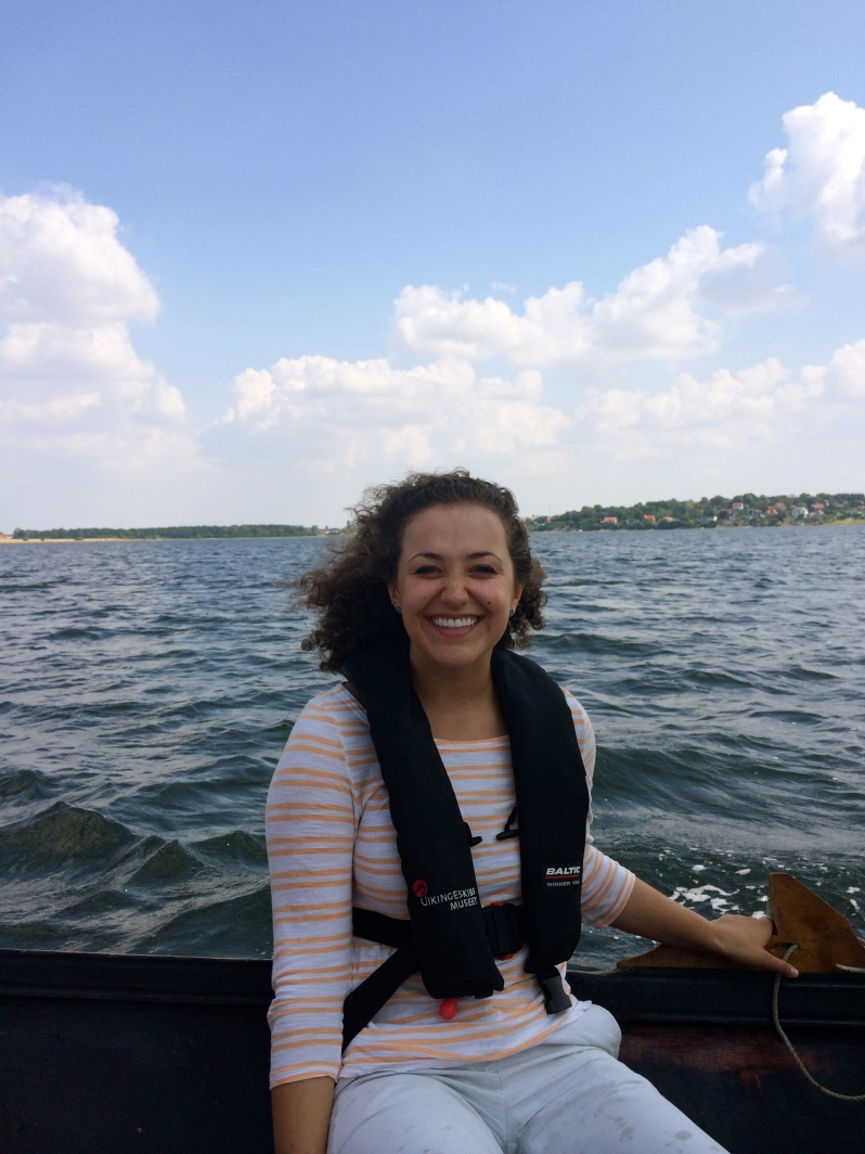 Our last day of the Vikings course was spent sailing Viking ships at Roskilde Fjord!