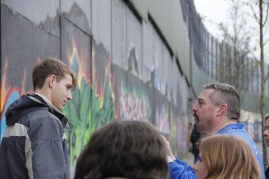 Michael Christen, Cross Cultural Communication Long Study Tour Belfast (3)