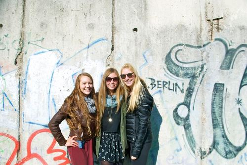 DIS students on study tour in Berlin