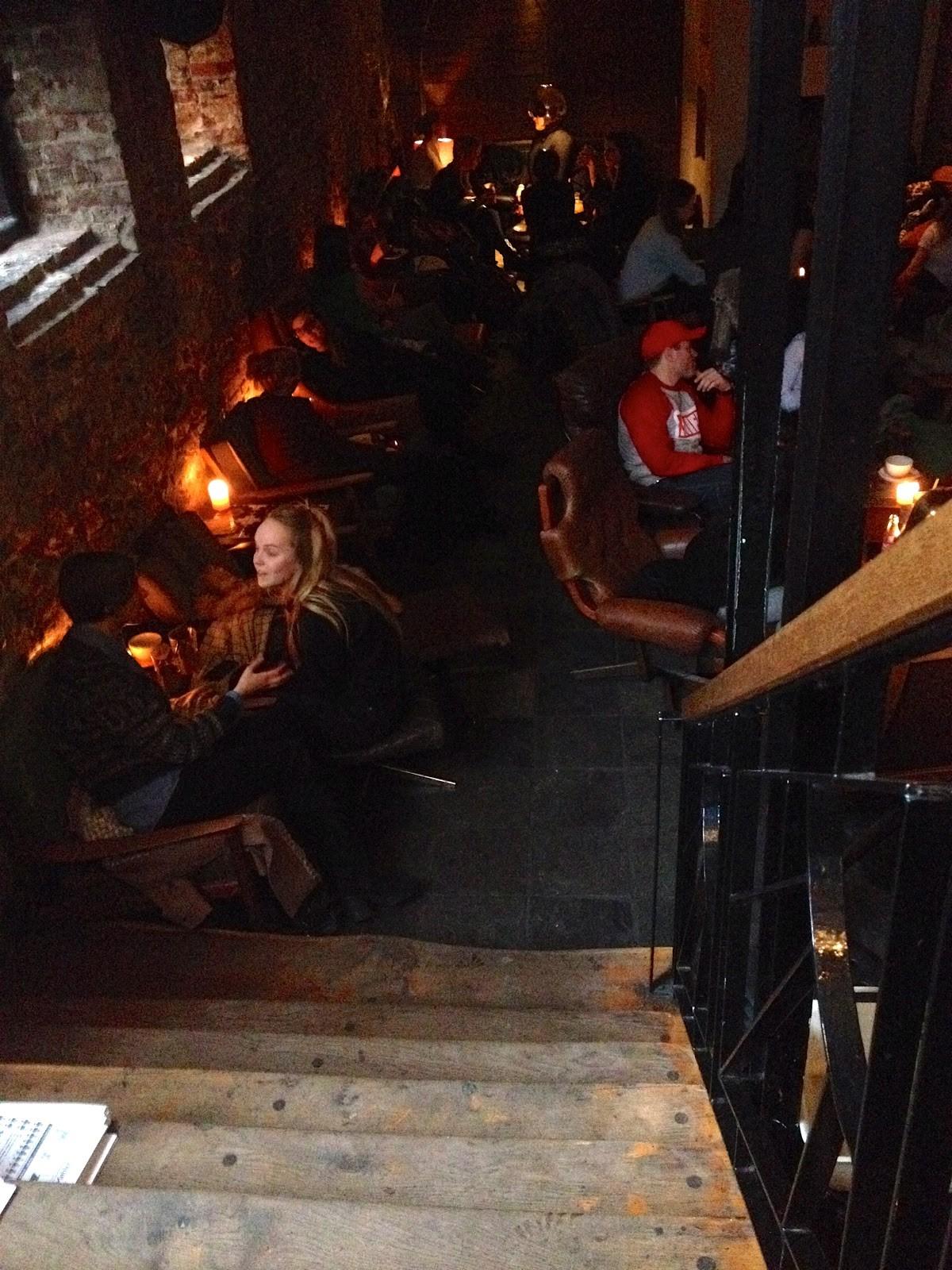 Cafe Scene In Copenhagen