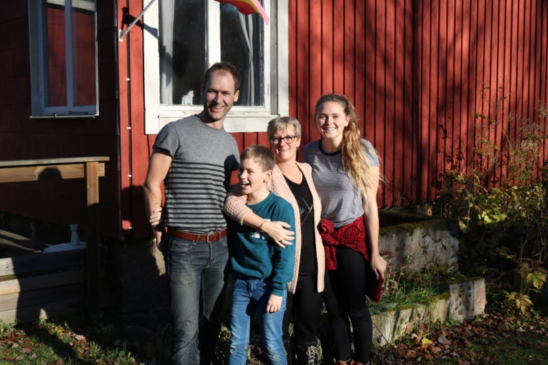 FA15_HomestayExperience_HyltaSweden_MyHostFamily_KatGowland