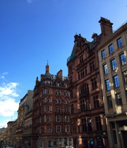 Beautiful buildings in Glasgow