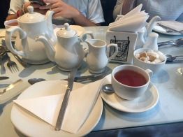 "Willow Tea Room. I got Darjeeling, the ""champagne of teas"""
