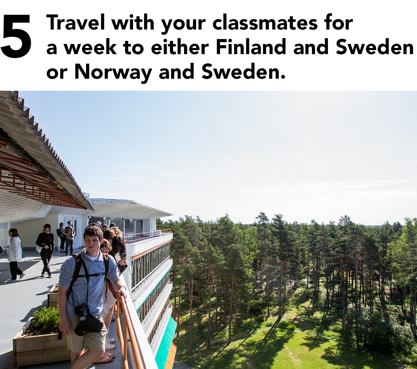 5 travel with your classmates